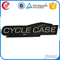 Custom handbag and shoe rubber logo patch label OEM brands