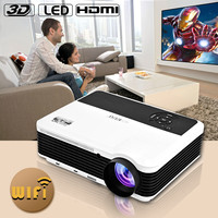 2015 hd mini home theater projector portable led data show projector support 1080p