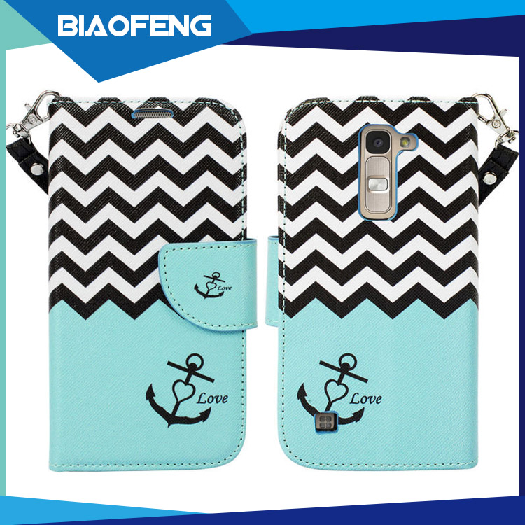 Wholesale blu cell phone pu leather wallet case with beautiful pattern printing for BLU Advance 4.0 L2 price good