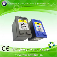 perfect color remanufactured ink cartridge for hp 27/ 28