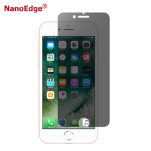 2018 Trending 2.5D PET Nano Privacy Screen Protector For Iphone 7 7 Plus Anti Spy Screen Film