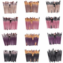 20Pcs Cosmetic Makeup Brushes Set Powder Foundation Eyeshadow Eyeliner Lip Brush Tool Brand Make Up Brushes Beauty Tools Pincel
