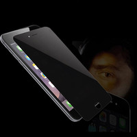 Anti-Peek 9H Privacy Dark Screen Protector for iPhone 6/6S