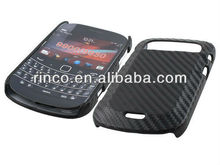 Carbon Fibre Hard Back Cover Case For Blackberry Bold 9900 9930
