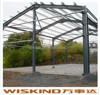 grey steel structure
