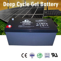 Good Discharging Ability agm deep cycle gel solar battery 12V 200ah