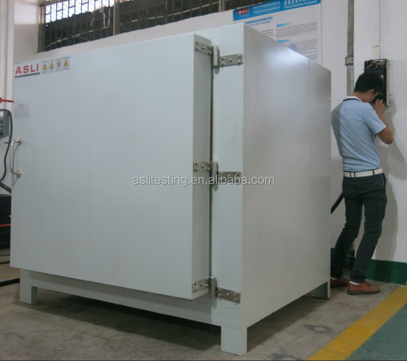 air exhaust aging chamber