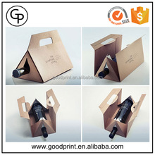 Custom 250ml drinking cardboard glass wine bottles packaging box