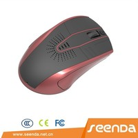 Speaker mouse 2.4g mouse New 2.4G Wireless Mouse With Mini Receiver with Cheap price