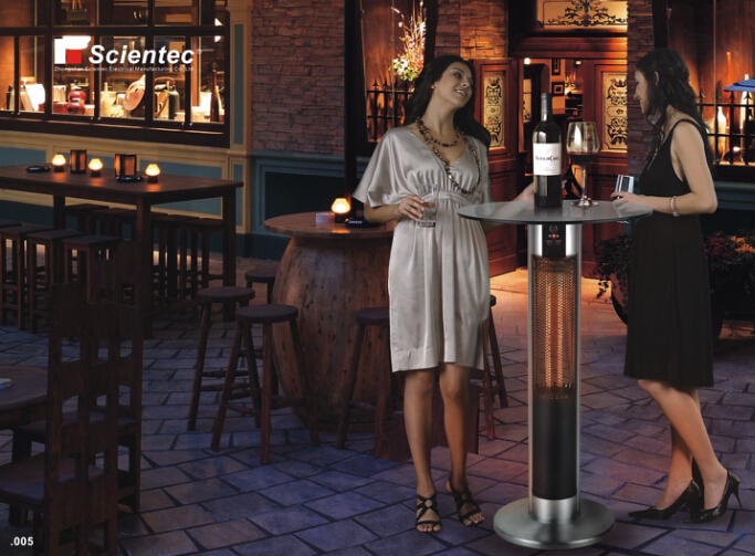 Scientec SH16110J6R-2 Bar Table Electric Patio Heater Manufacture