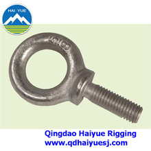 Shoulder type machinery eye bolt
