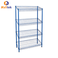 Top Quality Multifunction Incline Mesh Wire Shelf