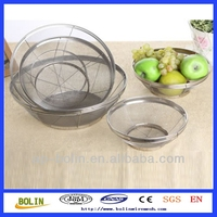 hot sale!!! fruit plate fruit basket series wire mesh basket(Factory)