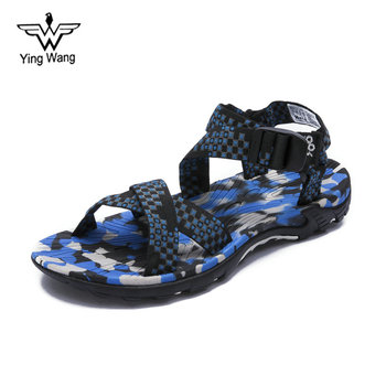 China Wholesale 2018 New Designs Flat Summer Unisex Sport Sandals