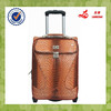 nigeria market good selling material PU luggage bag