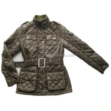 Warm male & female winter lightweight mature women jacket