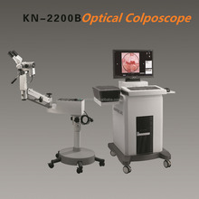Optical and electronic gynecology colposcope for vaginal exam KN-2200B