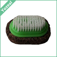 Natural pedicure foot callus scrubber