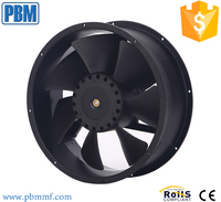 High Protected Flow Cooling Industrial 24v Dc Axial Fan