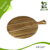 2016 Hot sale Most popular acacia wood round wood cutting board