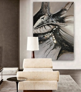 Home Decoration Abstract 3D Thick Texture Wall Art Oil Painting