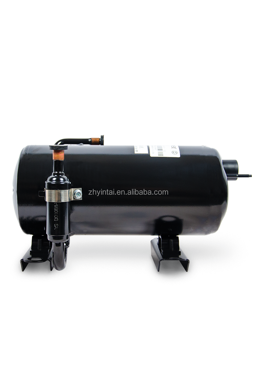 Hot sellling horizontal refrigeration compressor QYL-C139Y 2609BTU/h with R22 refrigerant for condensing unit