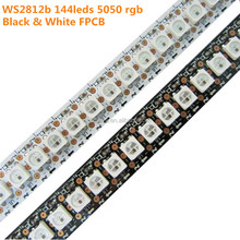 Flex tape rgbww rgb cct smd 5050 5v waterproof 3d addressable dream color strips ws2812b ws2811 ws2813 10m 144 led pixel strip