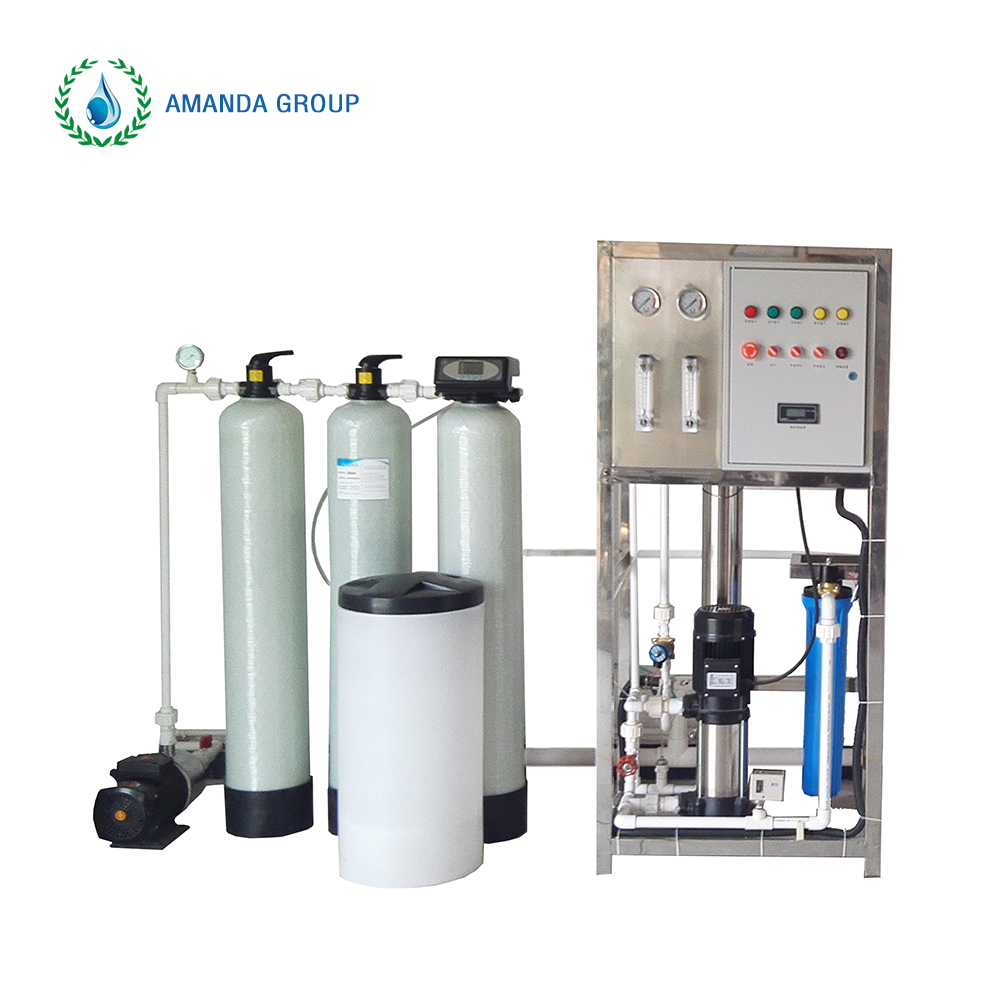 1 Ton water purification machines reverse osmosis with multistage fine filter