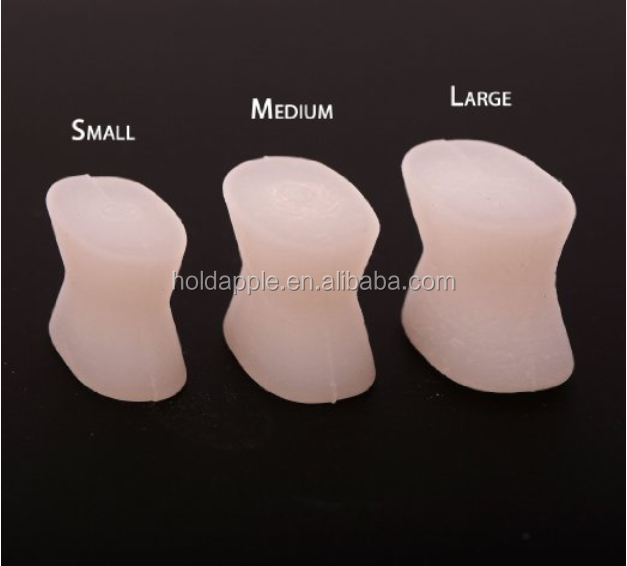 Silicone Toe Spreaders Spacer Separator Relieve Bunions Overlapped Toes HA00456