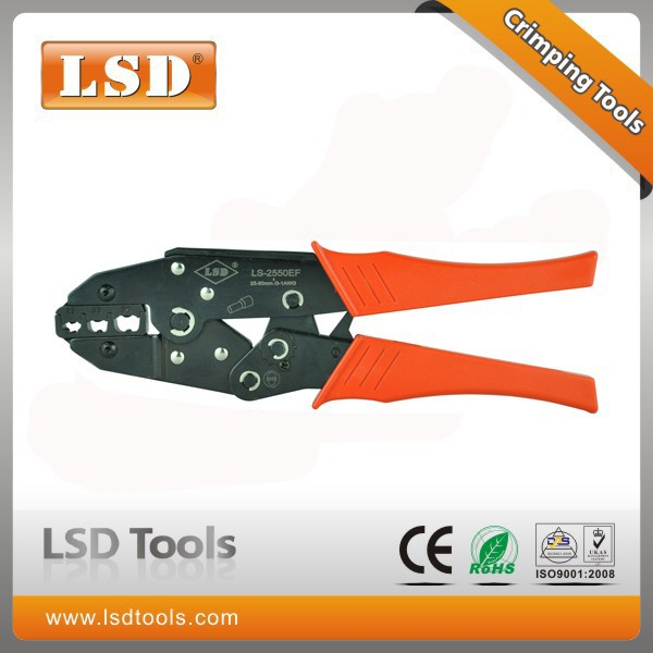LS-2550EF LSD brand crimping tool for 25-50mm2 cable connectors crimping tool 4-1AWG crimping pliers molex crimper