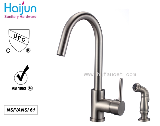 online shopping Prefabricated Homes Faucet with spray for Kitchen