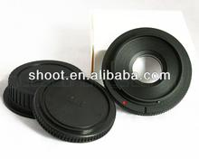 For Canon FD Lens to EOS EF Body Mount Adapter With Glass Cap