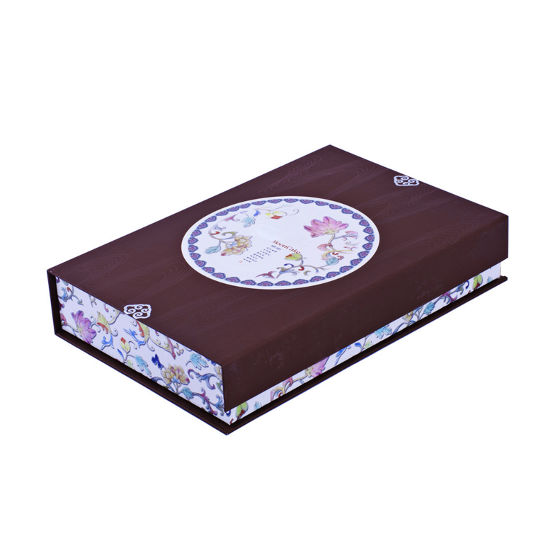Well Designed Custom Paper Gift Box For Book With Magnet perfume box fake book box