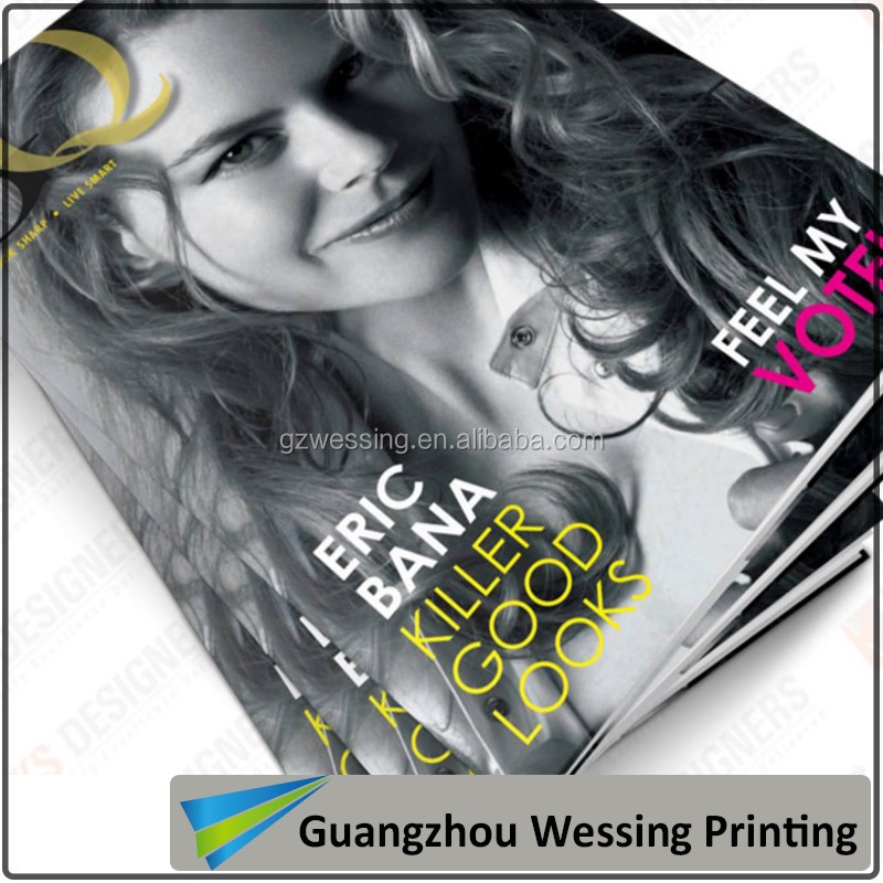 High quality magazine printing quick delivery