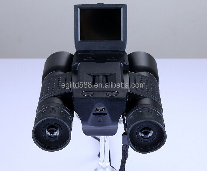 New 12X Zoom Digital Telescope Video Camera HD 1280x720P With 2.0 inch LCD Screen FS308 Digital Binocular Cameras