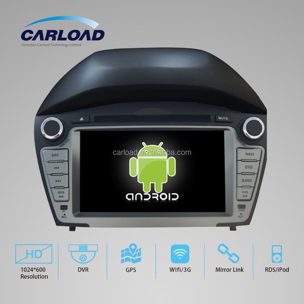 Newest Android 4.4 Rockchip A9 dual-core Car audio System Car Dvd radio with Gps navigation for Hyundai Tucson/IX35 2014