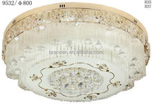 Alibaba china best selling led crystal ceiling light 90mm cut