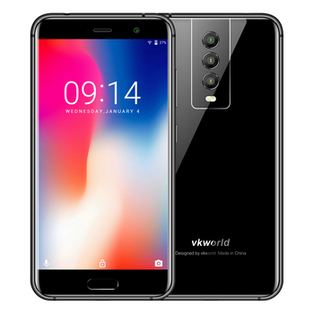 New Mobile Phones 4G VKWORLD K1 5.2 inch FHD 4G+64G Android 8.1 Three Camera Smartphone Unlock Cell Phone