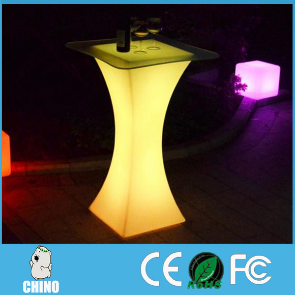 PE Light Table for Bar/KTV/Nightclub Luminous LED Table