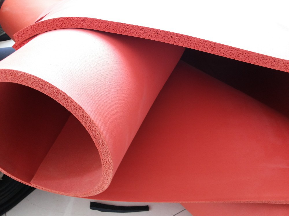 Flexible Soft SBR or EPDM Sponge Rubber Sheet