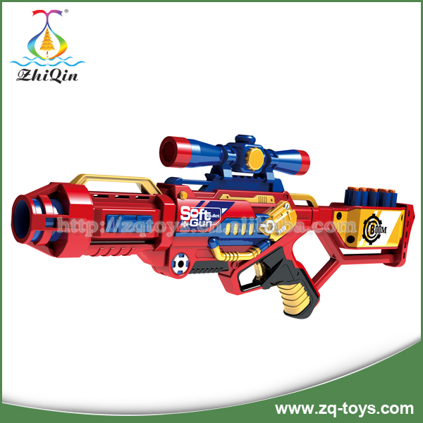 Good quality eva soft bullet gun for kids