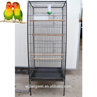 large stainless steel parrot bird cage wire mesh