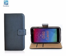 For LG Leon C40 Book stand flip wallet leather case Mix colors