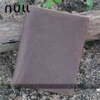 Personal design bifold wallet leather case