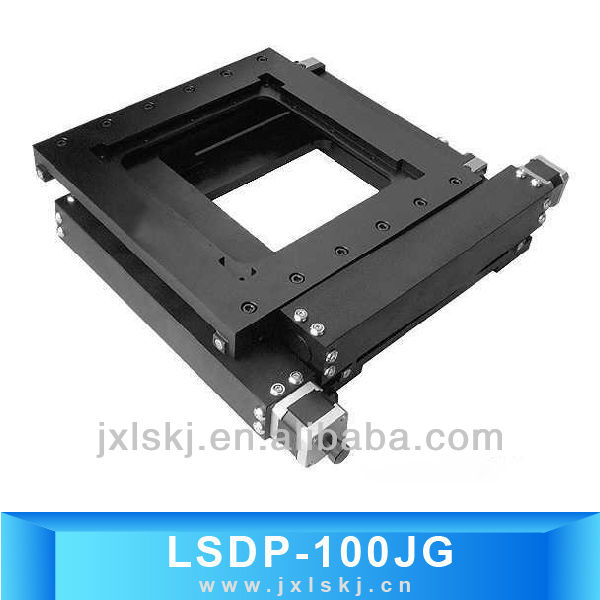 Motorized XY Linear Translation Stage LSDP-100JG for High Precision Microscopes