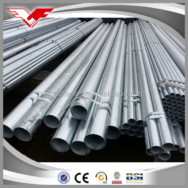 hot dip galvanized steel pipes manufacturer