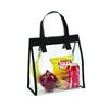 Clear Plastic PVC Eco Friendly Picnic Lunch Tote Bag