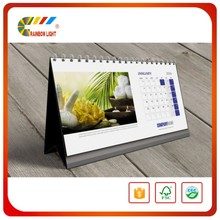 Cheap price personalized thick paper unique mini paper desk calendar