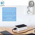5 Port Universal Multiple Usb Port Charger Mobile Phone Charger Station