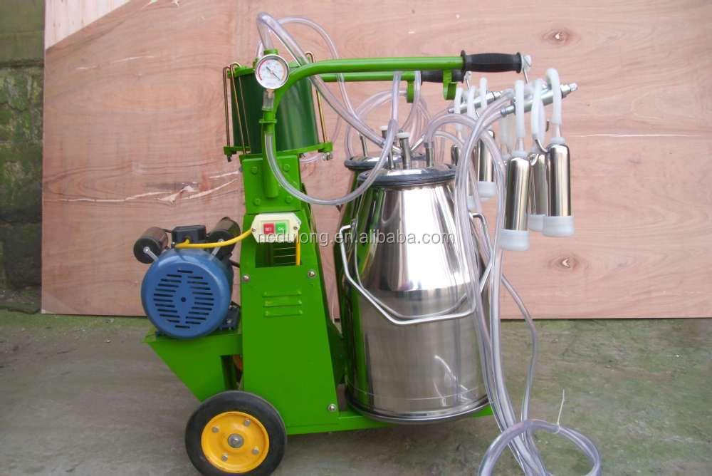 Portable and convenient buffalo milking machine